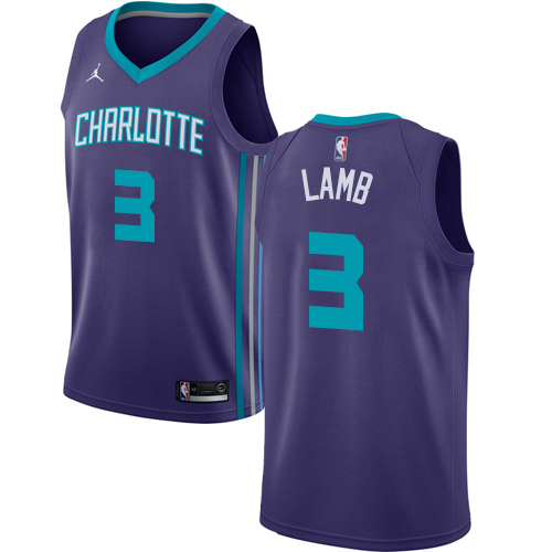 reputable site 9ccac 2b30f Hornets #2 Larry Johnson Purple 1995 All Star Throwback Stitched NBA Jersey